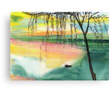 Fishing 1 Canvas Print