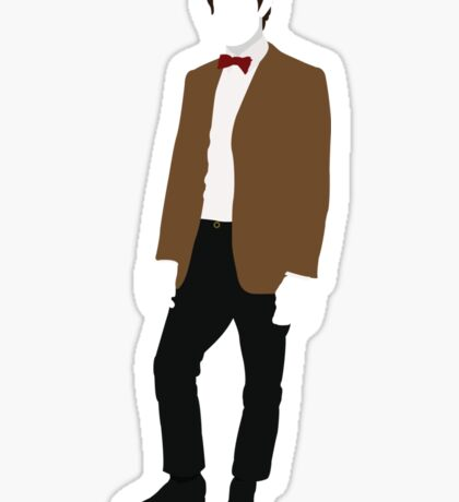 The Eleventh Doctor - Doctor Who - Matt Smith (Series 5) Sticker