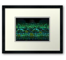 ©DA Mountain Fractal Framed Print