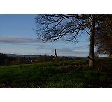 Church Spire At Wentworth Photographic Print