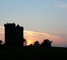 tower at dusk by Stuart Mcguire