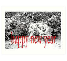 HAPPY NEW YEAR 29 Art Print