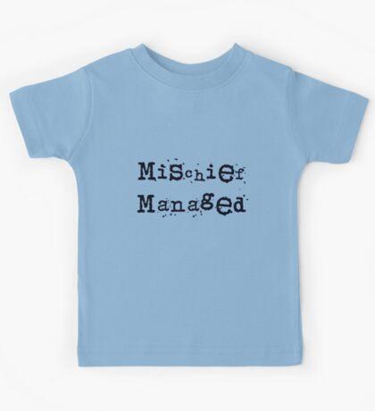 Mischief managed Kids Tee