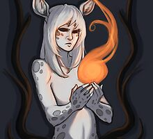 White Faun by caffeinetremors