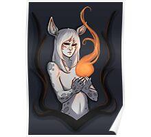 White Faun Poster