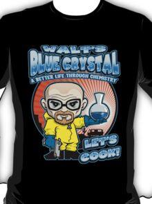 Walt's Blue Crystal T-Shirt