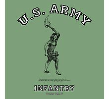 U.S. Army Infantry:   World War IV! Photographic Print