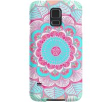 Tropical Doodle Flower Samsung Galaxy Case/Skin