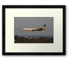 Logo Jet Framed Print