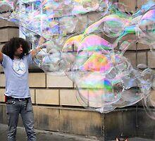 Bubble Man! by Kareena  Kapitzke