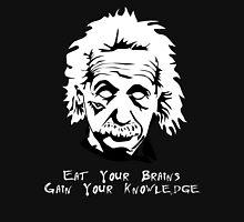 Einstein Zombie - Black Unisex T-Shirt