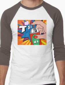 pop art Men's Baseball ¾ T-Shirt