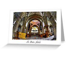 Blackburn Cathedral Card Greeting Card
