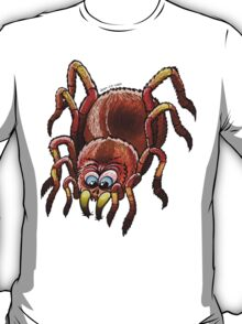 Tarantula Sinking its Fangs into Fresh Flesh T-Shirt