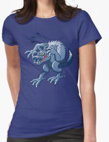 Werewolf Scratching Spooky Fleas T-Shirt