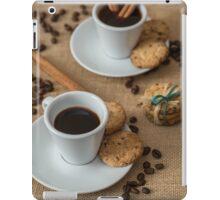 Homemade cookies , coffee and cinnemon iPad Case/Skin