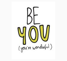 BE YOU (YELLOW) Kids Clothes