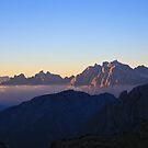 Dolomites sunrise by beavo