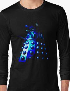 Dalek Gamma – Blue Long Sleeve T-Shirt