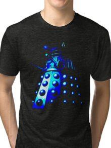 Dalek Gamma – Blue Tri-blend T-Shirt