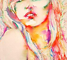 COLORED GIRL 1 by lautir