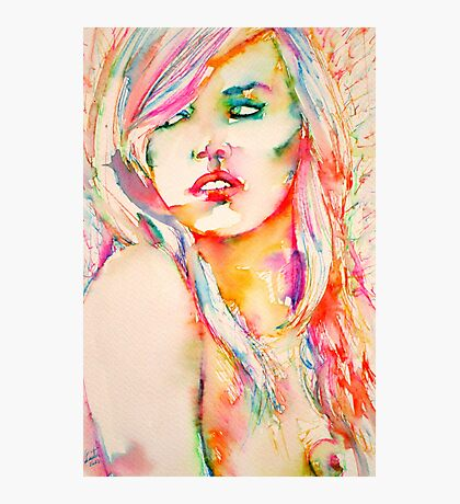 COLORED GIRL 1 Photographic Print
