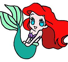 Chibi Ariel by ParkerNOM