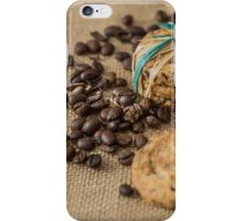 Homemade cookies and coffee beans iPhone Case/Skin