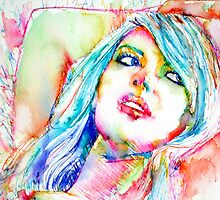 COLORED GIRL 2 by lautir