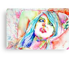 COLORED GIRL 2 Canvas Print