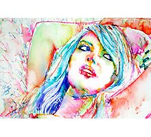 COLORED GIRL 2 Photographic Print