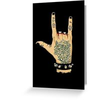 rocknroll Greeting Card