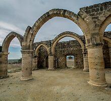 Ruins of Agios Sozomenos , Nicosia district. Cyprus by JPopov