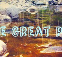 The Great PNW Bigfoot Sighting Sticker