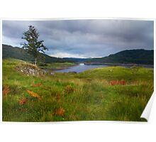 Glen Finglas Reservoir in the autumn Poster
