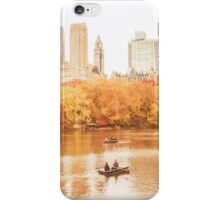Autumn - Central Park - New York City iPhone Case/Skin