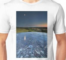 Moon Reflection in the Distances Unisex T-Shirt