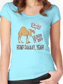 Hump Day • Camel Women's Fitted Scoop T-Shirt