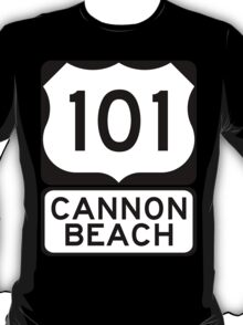 US 101 - Cannon Beach T-Shirt