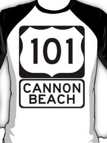 US 101 - Cannon Beach T-Shirt