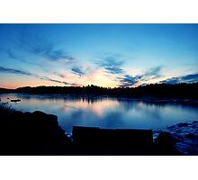 Glacial Sky Photographic Print