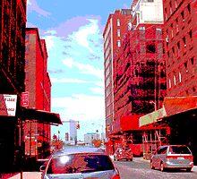 Lower Manhattan, NYC, NY by Ellen Turner