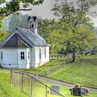 The Old Weirs Valley Church by LarryB007