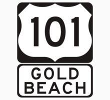 US 101 - Gold Beach by IntWanderer