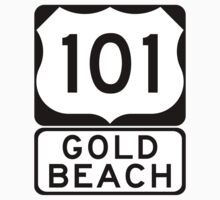 US 101 - Gold Beach by IntWanderer