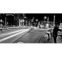 """Melbourne Black I"" Photographic Print"