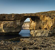 The Azure Window, Malta by Gabor Pozsgai