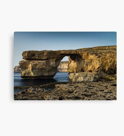 The Azure Window, Malta Canvas Print