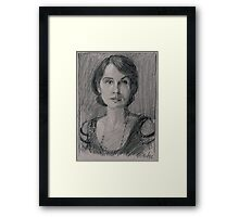 "Lady Mary Josephine Crawley ""Downton Abbey"" Framed Print"