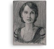 "Lady Mary Josephine Crawley ""Downton Abbey"" Canvas Print"
